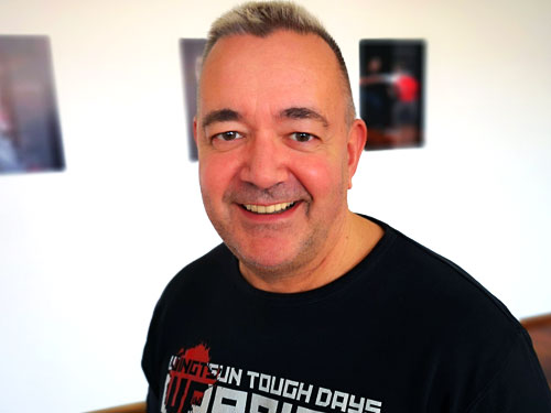 Achim ist WingTsun-Trainer in Wuppertal